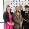 2019 Community Service Award presented to Rhonda Suda, Chief Executive Officer for the Southwest Workforce Development Board (SWDC)