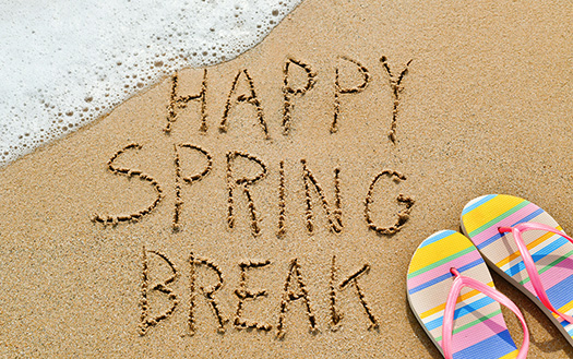 Image result for spring holiday break