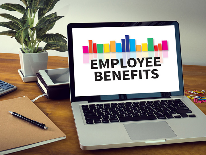 Employee Benefits Laptop