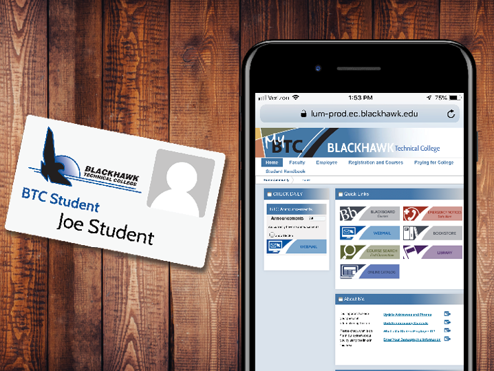 Student ID and Smartphone